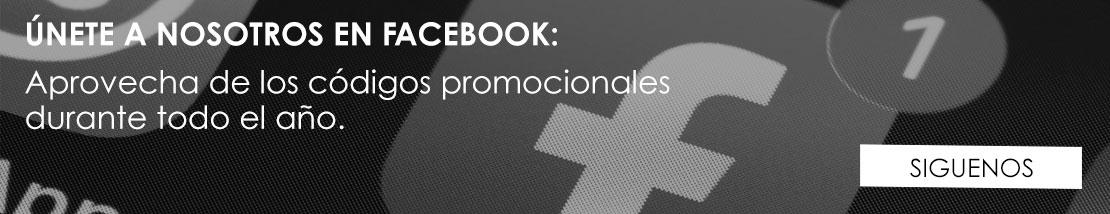 Únete a nosotros en Facebook